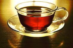 Tea in cup Stock Image