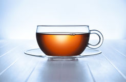 Tea Cup Background Royalty Free Stock Photo