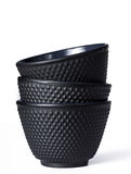 Tea cup of black cast iron Royalty Free Stock Photo