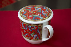Tea Cup for brew Chinese green tea. Stock Images
