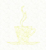 Tea cup concept Stock Images