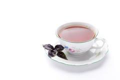 Tea. A cup of fragrant black tea Stock Photo