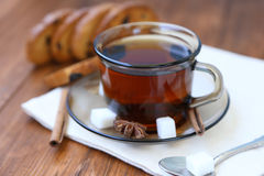 Tea in cup Royalty Free Stock Image