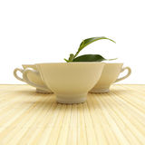 Tea Cup - Healthy Lifestyle Conce Royalty Free Stock Photo
