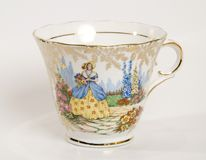 Tea cup no saucer royalty free stock photos