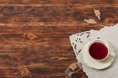 Tea Cup and Plate Of Fine Bone China Stock Photos