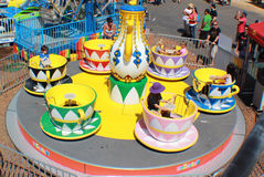 Tea Cup Ride Stock Image