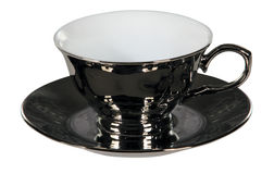 Tea cup and saucer Royalty Free Stock Photography