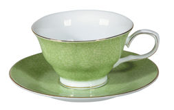 Tea cup and saucer Royalty Free Stock Photos