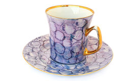 Tea cup and saucer Royalty Free Stock Photo