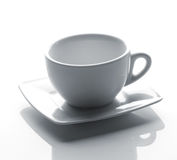 Tea cup on a saucer Royalty Free Stock Photography