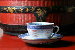 Tea cup saucer Royalty Free Stock Photography