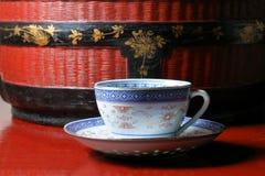 Tea cup saucer Royalty Free Stock Photography