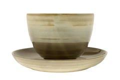 Tea cup with saucer Stock Photos