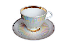 Tea cup and saucer Stock Photography