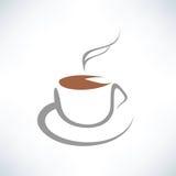 Tea cup symbol Royalty Free Stock Photos