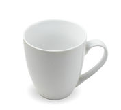 Tea cup on white Royalty Free Stock Photography