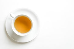 Tea. Cup on white background Stock Photography