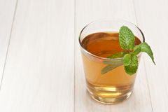 Free Tea Cup With Mint Stock Images - 21335454