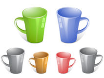 Tea cups Royalty Free Stock Images