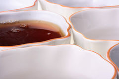 Tea cups Stock Photography