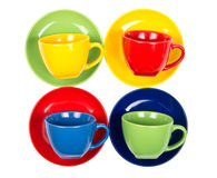 Tea cups Royalty Free Stock Photos