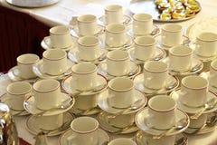 Tea Cups Stock Photos
