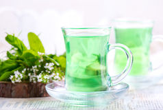 Tea in cups Royalty Free Stock Photos