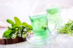 Tea in cups Stock Images
