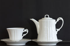 Tea cups and mugs Royalty Free Stock Photos