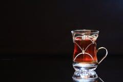 Tea On Dark Stock Image