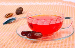 Tea with dates Stock Photos