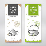 Tea design package Royalty Free Stock Image