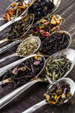 Tea with different additives Royalty Free Stock Photography