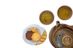 Tea drinking set Royalty Free Stock Photos