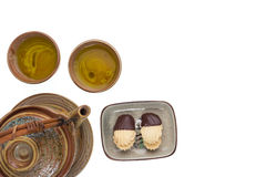 Tea drinking set Stock Image