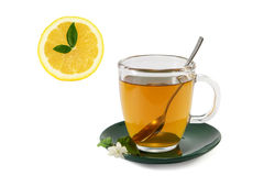 Tea drinking time Royalty Free Stock Photography