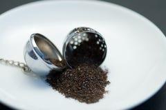 Tea egg and tea stock images