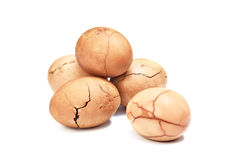 Tea eggs Royalty Free Stock Images