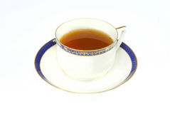 Tea in elegance classic porcelain cup isolated Royalty Free Stock Photography