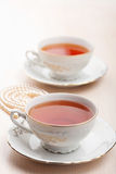 Tea in elegant cups Royalty Free Stock Photos