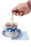 tea för 2 kopp Arkivbilder
