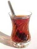 tea för crystal exponeringsglas Fotografering för Bildbyråer