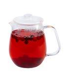 Tea för fruktbärgräsplan royaltyfria foton