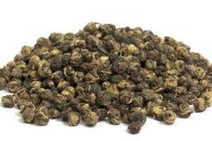 Tea för jasmindrakepärla Arkivbild