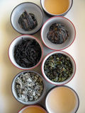 tea för kines 3 Arkivfoto