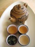 tea för kines 9 Arkivbilder