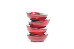 tea för krokiga hållare för stearinljus ljus Arkivfoton