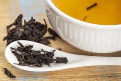 Tea för Se Chung Oolong Fotografering för Bildbyråer