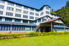Tea factory, Sri Lanka Royalty Free Stock Images